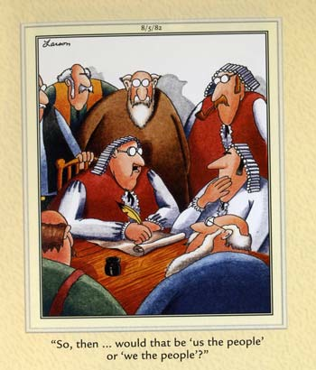 cartoonist gary larson. Far Side cartoon by Gary